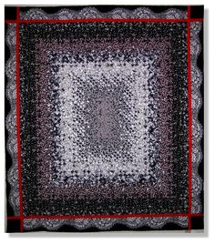 Blooming nine patch in black and white at Stitchin' Heaven. (Note:  I posted this previously and it 'disappeared' from my Board.  I feel like I'm in the Pinterest Twilight Zone.)