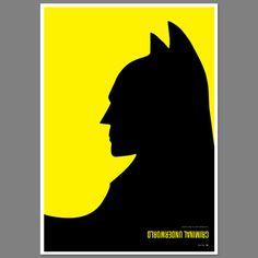 Optical Illusions - Batman / Penguin #SimonCPage #Batman #Penguin