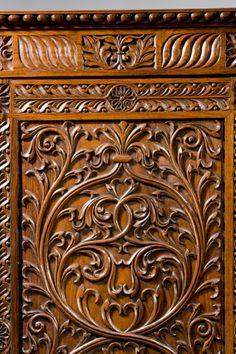 Breakfront antique wardrobe (India)