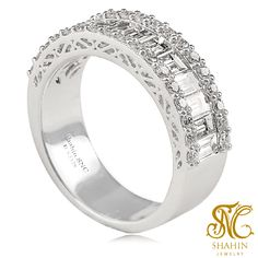 Shahinjewelryth R.S2328 White Gold Diamond Ring  เครื่องประดับอันล้ำค่า รายล้อมด้วยเพชรทรงคุณค่า ตกแต่งอย่าวิจิตรตระการตา กับตัวเรือนทองคำขาว เครื่องประดับสุดหรูควรค่าแก่การเป็นเจ้าของ ติดต่อสอบถามราคาได้ที่ ร้านชาฮิน จิวเวลรี่ @ สีลม #shahinjewelryth #เครื่องประดับ #งานทอง #เครื่องประดับทองคำขาว #ทองคำขาว #กรุงเทพฯ #บางรัก #เครื่องประดับออกงาน #เครื่องประดับงานแต่ง #ทันสมัย #หรูหรา #ทอง18K #เครื่องประดับเพชร #สีลม #เครื่องประดับพลอยแท้ #เครื่องประดับพลอยแท้เพชรแท้…