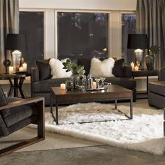 ♛ South Shore Decorating Blog: Trend-Spotting: Mongolian Fur (Better Late Than Never) #Home #Design #Decor ༺༺ ❤ ℭƘ ༻༻