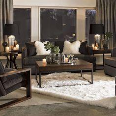 ♛ South Shore Decorating Blog: Trend-Spotting: Mongolian Fur (Better Late Than Never) #Home #Design #Decor ༺༺ ❤ ℭƘ ༻༻