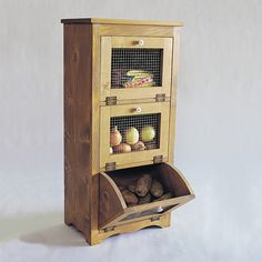 Storage Bins Woodworking Plan by U-Bild Woodworking Plans
