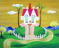 The little house illustrated by Mary Blair