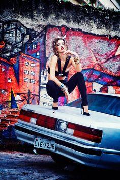 Alessandra Ambrosio by Ellen von Unwerth for Vogue Brazil September 2014