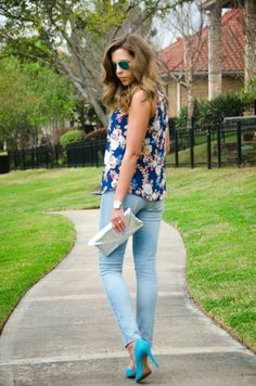 Shades of Blue | For the Love of Fancy Blog