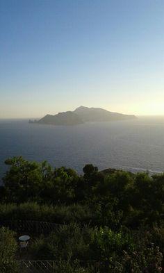Vista Capri da Relais Blu