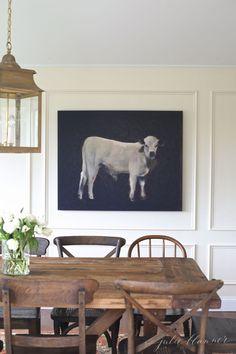 beautiful farmhouse kitchen / breakfast nook