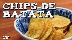 Chips de batata no microondas @CookFork