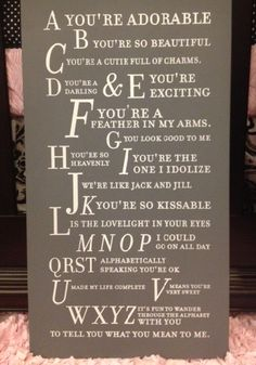 love this new sign from Twelve Timbers!  http://www.shopsugarbabies.com/    I use to sing this song to bradyn when he was a baby.. omg i havent seen it in forever