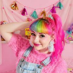 The pony is back #pixielocks #partykei #confetticlub #swankiss #w❤️c