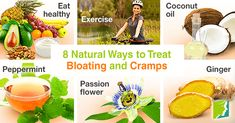 Bloating and cramps are a frustrating and painful experience. However, there are many natural ways to relieve bloating and cramps. Relieve Bloating, Menopause Symptoms, Healthy Exercise, Passion Flower, Loving Your Body, Natural Treatments, Home Remedies, Health And Wellness