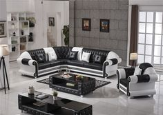 Modern Leather Sofa, Leather Sofa Set, Leather Furniture, Bed Furniture, Living Room Furniture, Modern Furniture, Furniture Design, Sofa Set Designs, Reclining Sofa