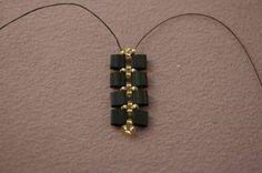 -Tila Bead Bracelet Free Beading Pattern - Finish Adding Tila Beads ...