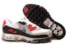 official photos 356de 48a67 Cheap Men s Nike Air Max 90   360 Shoes White Black Grey Red 90   360 Shoes  For Sale from official Nike Shop.