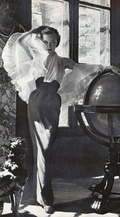 Jacques Fath 1952♥  ♥ ✿ Ophelia Ryan✿♥ 💋