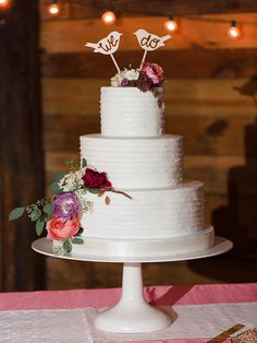 17 Gorgeous Fall Wedding Cakes | TheKnot.com