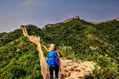 Camping on the Great Wall of China? Yes, Please! http://www.thefivefoottraveler.com/camping-great-wall-of-china/