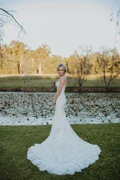 Brooke Cullen & Leith Testoni's Hunter Valley wedding on The LANE / Justin Aaron Photography