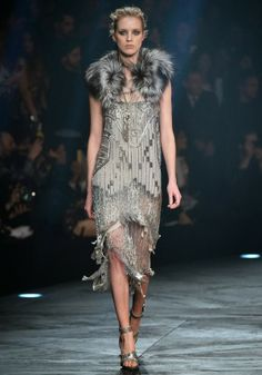 Roberto Cavalli @ Milan Fashion Week winter 2014-15 - video