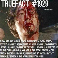 Poor Glenn he's been through so much. R.I.P. Glenn