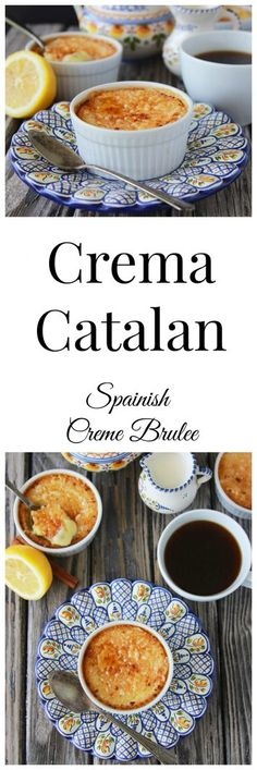 Crema Catalan is a dessert right from Spain and sharing awesome photo's of Spain too! Our Culinary Journey Around the World is in Spain to enjoy some recetas deliciosas (delicious recipes) plus highlights from my daughter, Madi's, recent Desserts From Spain, Spanish Desserts, Spanish Food, Recipes From Spain, Spanish Recipes, Best Dessert Recipes, Easy Desserts, Amazing Recipes, Desert Recipes