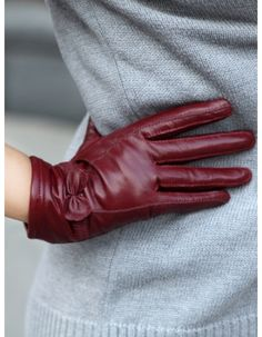 Hot Sale 2013 Winter Ladies Driving Gloves - MIXMOSS