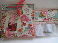 Babycard for a babygirl