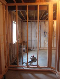 Basement Wall Framing framing out a door with floating basement walls - anandtech forums