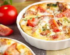 Eat Stop Eat To Loss Weight - Gratin de pommes de terre, tomates et mozzarella - In Just One Day This Simple Strategy Frees You From Complicated Diet Rules - And Eliminates Rebound Weight Gain Breakfast Frittata, Paleo Breakfast, Breakfast Recipes, Breakfast Ideas, Paleo Frittata, Breakfast Bake, Sausage Frittata, Frittata Muffins, Vegetable Frittata