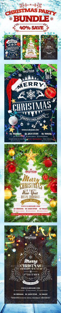 Christmas Flyer Template Psd Design Xmas Http Graphicriver
