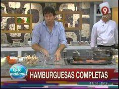 Ariel Rodriguez Palacios Hamburguesas caseras