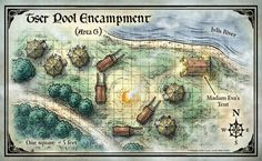 Curse of Strahd; ;Tser Pool Encampment (Digital DM & Player Versions) $1.75
