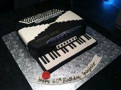 Accordian Cake