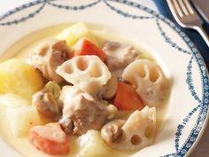根菜とチキンのクリーム煮:脇 雅世