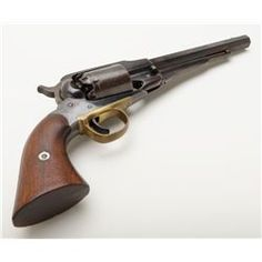 Remington Model 1858 New Model percussion revolver with New Jersey state markings remaining in near