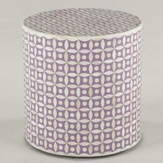 Lovely lavender inlay... #interiordesign #sidetable #ecofriendly #furniturefinds #lavender