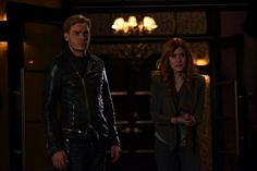"""#Shadowhunters 2x09 """"Bound by Blood"""" - Jace and Clary"""
