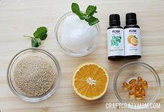 Moisturizing Coconut Oil Scrub