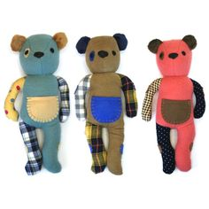"""Fair Trade & Handmade in the West Bank   When you purchase a """"Thready"""" teddy bear, its twin is donated to a child refugee. These original, first-run Thready teddy bears include a poem that tells the Threadies story."""