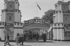 Belmont Park will come to life again this summer as part of the anniversary celebrations of Montréal. Montreal Ville, Montreal Quebec, Belmont, 30 Mai, Entertainment Sites, Front Gates, Canadian History, Photo Archive