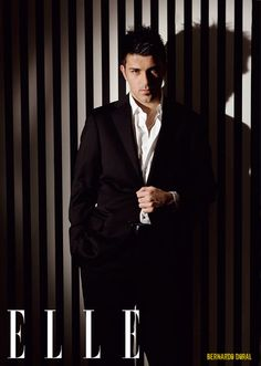 David Villa by Elle magazine 2