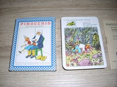 #Pinocchio Quartettspiel m Peterkarte unbespielt Altenburg DDR