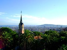 The view from Parc Güell