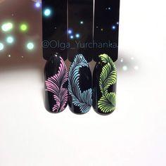 Фотография #nailarttutorial Manicure, Shellac Nails, Diy Nails, Acrylic Nails, Nail Art Modele, Nail Art Arabesque, Diamond Nails, New Nail Art, Beautiful Nail Designs