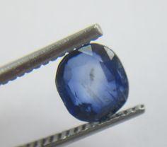 1.57 Carat Kashmirs Corn Blue Color Sapphire Cushion Precious Loose Gemstone Si…
