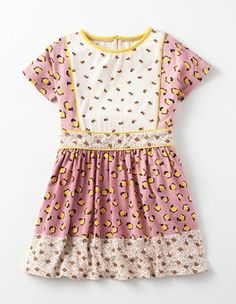 0441d63e3b Vintage Pink Bud Hotchpotch Jersey Dress Boden Girl Outfits, Cute Outfits,  Girls Dresses,