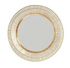 Home Decor Mirrors, Metal Mirror, Mirror Mirror, Round Mirrors, Hanging Mirrors, Wall Mirrors, Matte Gold, Ebay, Trendy Tree