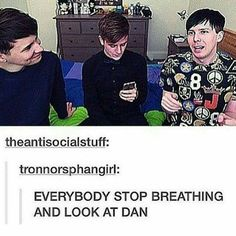 Awww! I don't ship Phan but that's just too cute they are the best fucking friends