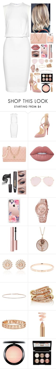 """""""Untitled #75"""" by lara-is ❤ liked on Polyvore featuring Victoria Beckham, Christian Louboutin, Chanel, Lime Crime, Casetify, Too Faced Cosmetics, Luna Skye, Nam Cho, Ted Baker and EF Collection"""